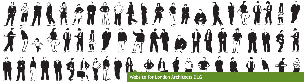Website for London architects DLG