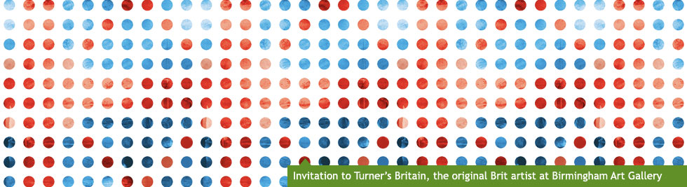 Invitation to Turner's Britain, the original Brit artist at Birmingham Museum