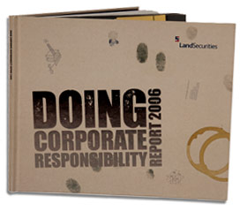 Land Securities Doing Corporate Responsibility front cover
